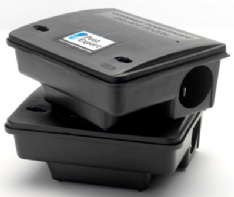 Mouse Bait Boxes (x2), Heavy Duty, Locking